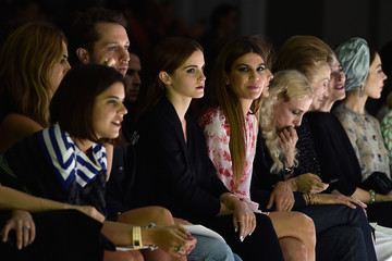 Emma Watson Front Row at Giambattista Valli