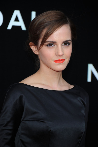 'Noah' Premieres in NYC — Part 3 [hair,face,lip,hairstyle,eyebrow,beauty,shoulder,skin,chin,brown hair,emma watson,inside arrivals,noah,new york,ziegfeld theatre,premiere]
