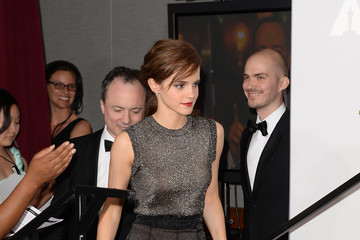 Emma Watson Press Room at the 86th Annual Academy Awards