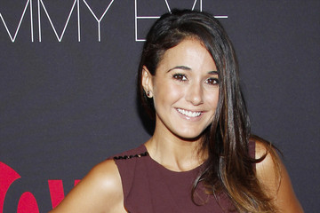 Emmanuelle Chriqui Arrivals at the Showtime Emmy Eve Soiree