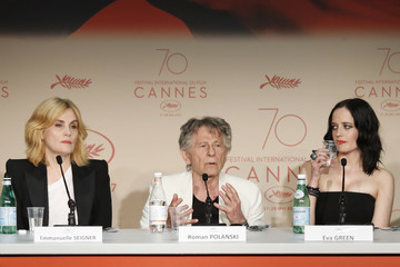 Emmanuelle Seigner 'Based on a True Story' Press Conference - The 70th Annual Cannes Film Festival