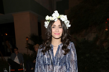 Emmy Rossum Alexander Wang X H&M Coachella Party