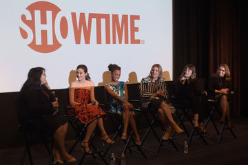 Emmy Rossum Shanola Hampton Screening and Panel Discussion with the Women of Showtime's 'Shameless' - Arrivals
