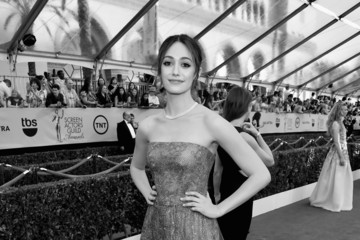 Emmy Rossum 21st Annual Screen Actors Guild Awards - Red Carpet