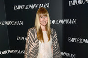 Editor-in-chief of Teen Vogue Amy Astley attends the Emporio Armani New York Flagship Opening on September 7, 2012 in New York City.