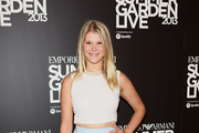 Hannah Arterton attends Emporio Armani's Summer Garden Live 2013 on July 16, 2013 in London, England.