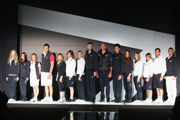 Paola Croce Emporio Armani Unveils Italy Olympic Team Official Kit