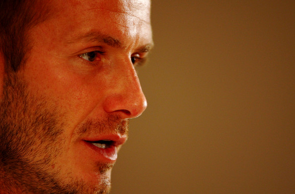 david beckham england soccer pictures. Soccer star David Beckham had