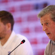 Steven Gerrard and Roy Hodgson Photos