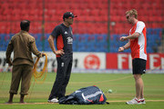 Paul Collingwood and Andy Flower Photos Photo