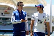 Kevin Pietersen and Alastair Cook Photos Photo