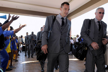 Franco Tancredi England Team Arrive In South Africa-2010 FIFA World Cup