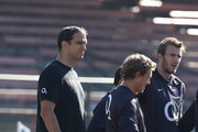 Jonny Wilkinson and Martin Johnson Photos Photo