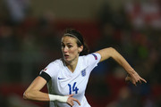 Jill Scott of England during the UEFA Women's Euro 2017 Qualifier match between England and Bosnia and Herzegovina at Ashton Gate on November 29, 2015 in Bristol, England.