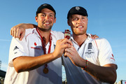Andrew Flintoff and Steve Harmison Photos Photo