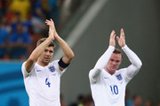 Wayne Rooney Steven Gerrard Photos Photo