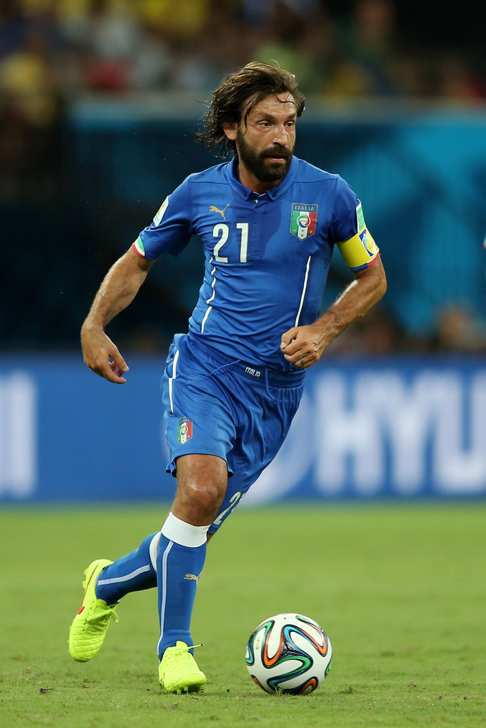 Andrea Pirlo and the 10 Best Bearded Geniuses in World ...  |Pirlo