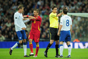 Peter Crouch Gareth Barry Photos Photo