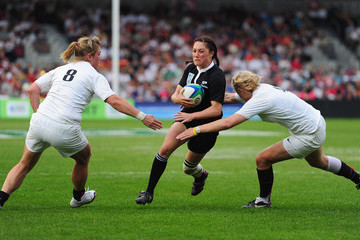 Catherine Spencer England v New Zealand -IRB Womens Rugby World Cup Final