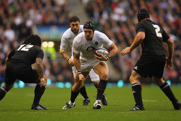Ma'a Nonu Andrew Hore England v New Zealand - Investec Challenge Series 2009