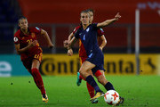 Jill Scott of England passes during the UEFA Women's Euro 2017 Group D match between England and Spain at Rat Verlegh Stadion on July 23, 2017 in Breda, Netherlands.