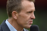 Former England cricketer Dominic Cork during the 3rd Royal London One Day International match between England and Sri Lanka at Old Trafford on May 28, 2014 in Manchester, England.