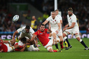 Mike Brown and Brad Barritt Photos - 1 of 26 Photo