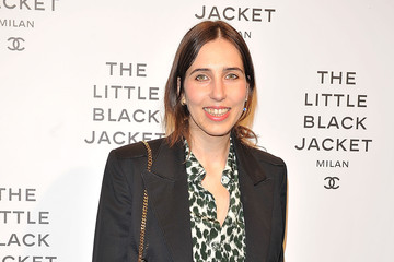 Enrica Ponzellini Arrivals at a Chanel Event in Milan