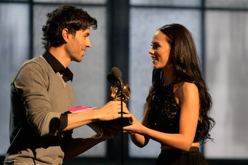 Enrique Iglesias 57th GRAMMY Awards - Show