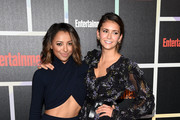 Actresses Kat Graham (L) and Nina Dobrev attend Entertainment Weekly's Annual Comic-Con Celebration at Float at Hard Rock Hotel San Diego on July 26, 2014 in San Diego, California.