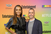 Janet Mock and Entertainment Weekly Editor in Chief Henry Goldblatt attend as Entertainment Weekly Celebrates Its Annual LGBTQ Issue at the Stonewall Inn on June 05, 2019 in New York City.