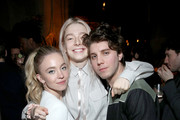 (L-R) Sydney Sweeney, Hunter Schafer, and Lukas Gage are seen as Entertainment Weekly Celebrates Screen Actors Guild Award Nominees at Chateau Marmont on January 18, 2020 in Los Angeles, California.