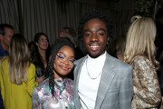 (L-R) Marsai Martin and Caleb McLaughlin are seen as Entertainment Weekly Celebrates Screen Actors Guild Award Nominees at Chateau Marmont on January 18, 2020 in Los Angeles, California.