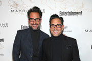 Lawrence Zarian (L) and Gregory Zarian attend Entertainment Weekly's Screen Actors Guild Award Nominees Celebration sponsored by Maybelline New York at Chateau Marmont on January 20, 2018 in Los Angeles, California.