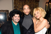 (L-R) Actors Harvey Guillen, Kendrick Sampson, and actress Kiersey Clemons attend Entertainment Weekly Celebration Honoring The Screen Actors Guild Awards Nominees presented by Maybelline at Chateau Marmont In Los Angeles on January 29, 2016 in Los Angeles, California.