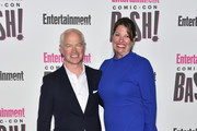 Neal McDonough and Ruve McDonough attends Entertainment Weekly's Comic-Con Bash held at FLOAT, Hard Rock Hotel San Diego on July 21, 2018 in San Diego, California sponsored by HBO