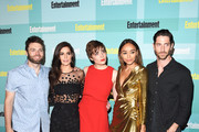 (L-R) Actors Seth Gabel, Janet Montgomery, Elise Eberle, Ashley Madekwe and Iddo Goldberg attend Entertainment Weekly's Comic-Con 2015 Party sponsored by HBO, Honda, Bud Light Lime and Bud Light Ritas at FLOAT at The Hard Rock Hotel on July 11, 2015 in San Diego, California.