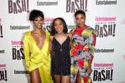 (L-R) Nafessa Williams, China Anne McClain and Christine Adams attends Entertainment Weekly's Comic-Con Bash held at FLOAT, Hard Rock Hotel San Diego on July 21, 2018 in San Diego, California sponsored by HBO