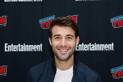 Actor James Wolk participates in Entertainment Weekly's Brave Warriors panel at New York Comic Con on October 7, 2018 in New York City.