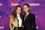 Jaina Lee Ortiz and Arielle Kebbel attend the Entertainment Weekly & PEOPLE New York Upfronts Party on May 13, 2019 in New York City.