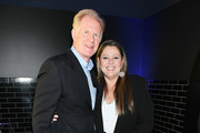 Ed Begley Jr. and Camryn Manheim attend the Entertainment Weekly & PEOPLE New York Upfronts Party on May 13, 2019 in New York City.