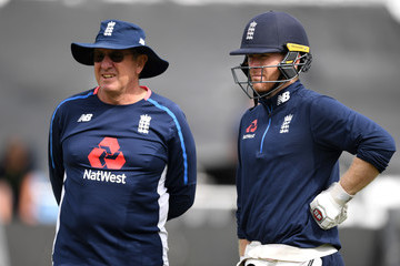Eoin Morgan England And India Net Sessions