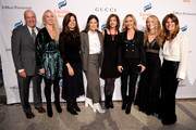 (L-R) Dan Kelly, Chandra Jessee, Sue Smalley, Paula Ravets, Yasmeen Hassan, Angelica Fuentes, Lara Stein and Simone Lahorgue attend the annual Make Equality Reality Gala hosted by Equality Now on November 19, 2019 in New York City.