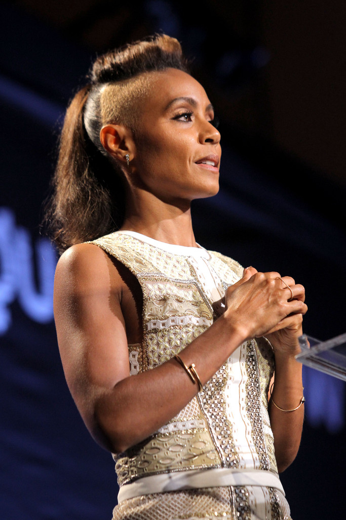 "Actress Jada Pinkett Smith speaks onstage during Equality Now presents ""Make Equality Reality"" at Montage Hotel on November 4, 2013 in Los Angeles, California."