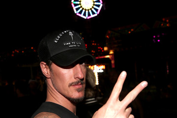 Eric Balfour The Levi's Brand and RE/DONE Levi's Present NEON CARNIVAL With Tequila Don Julio