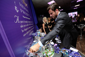 Eric Decker Crown Royal Lounge at the CMT Music Awards