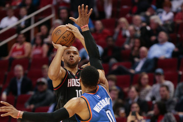 Eric Gordon Oklahoma City Thunder v Houston Rockets