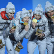 Eric Medal Ceremony - Winter Olympics Day 14