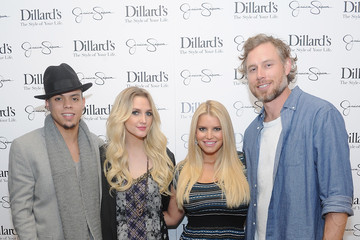 Eric Johnson Jessica Simpson Collection Event in Dallas