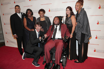 Eric LeGrand The Christopher & Dana Reeve Foundation Hosts 'A Magical Evening' - Arrivals